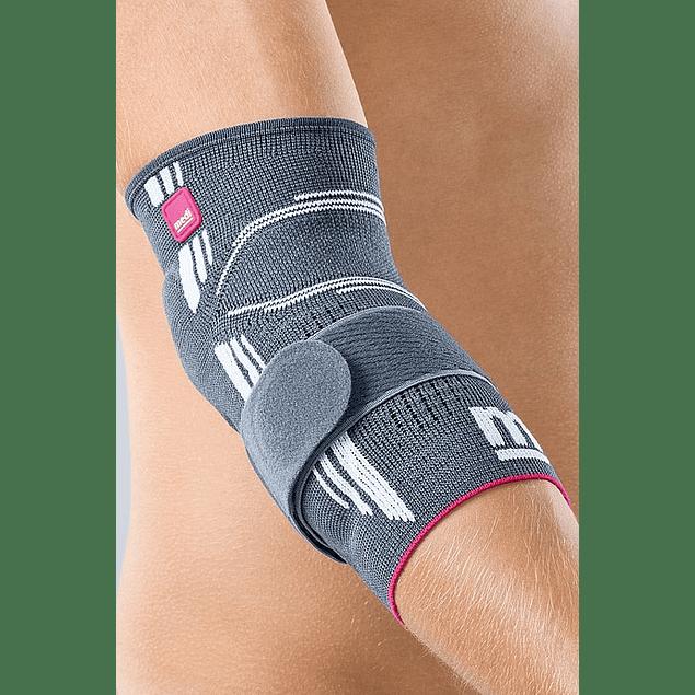 Epicomed - Suporte elástico Do Cotovelo Com Almofadas Em Silicone e Tira De Tensão