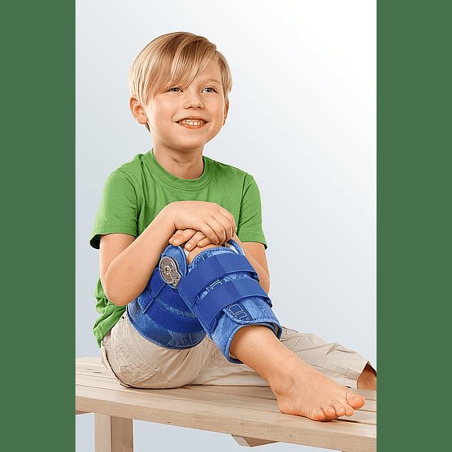 Tala Universal Para o Joelho Com Limite De Flexão/Extensão e opções De Imobilização Medi ROM Kidz