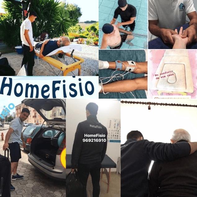 Fisioterapia ao Domicilio / Home Physiotherapy