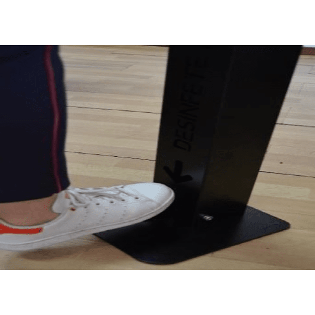 Dispensador de Álcool gel de Pedal