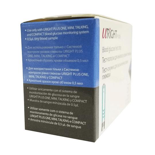 7517 – URight Tiras Reactivas p/Glucosa – 50 tiras