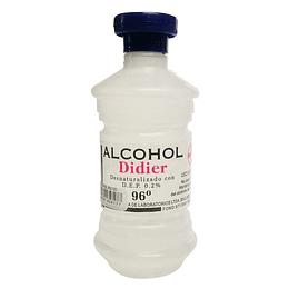 ALCOHOL 96ª  DIDIER DESNATURALIZADO CON D.E.P AL 0.2% 250 CC