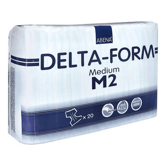 Pañal Delta Form M2 – 20 Unidades