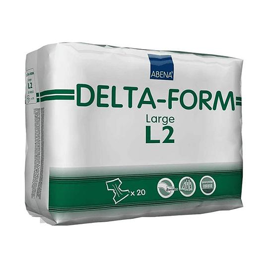 Pañal Delta Form L2 – 20 Unidades