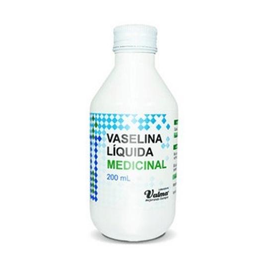 Vaselina Líquida 200ml Valma