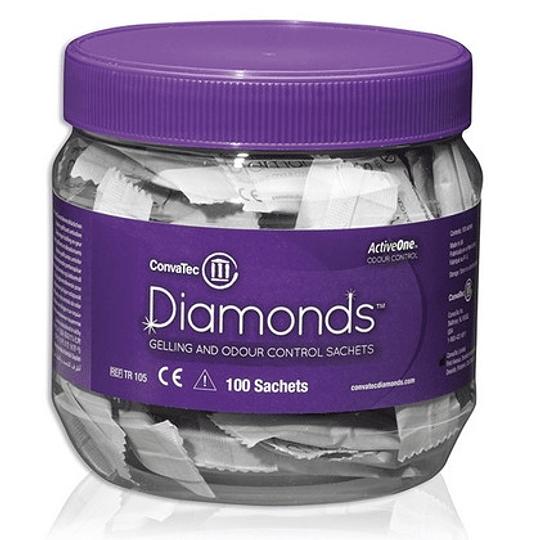 Diamonds ™ Sobres de Gelificación y Control de Olores 1706529