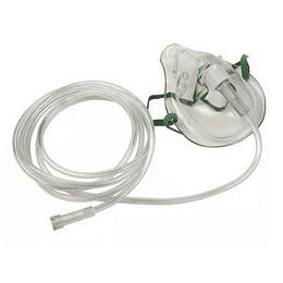 Mascarilla p/Oxigeno Adulto c/Tubo 2,1mt