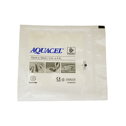 AQUACEL ALGINATO SIMPLE 10 X 10