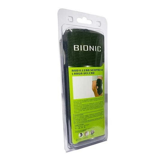 Rodillera Neoprene Larga c/Velcro BIONIC – Universal