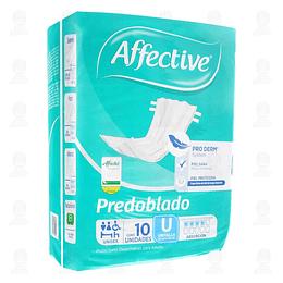 Pañal Affective Predoblado Unitalla – 10un