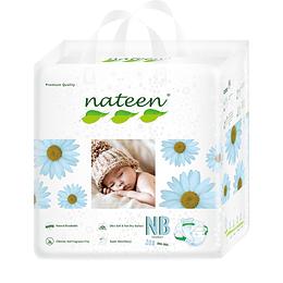PAÑAL NATEEN RECIEN NACIDO BABY PREMIUM X 20 (BDNB20)