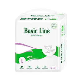 PAÑAL NATEEN LINEA BASICA PURPLE TALLA L (BDPL10)