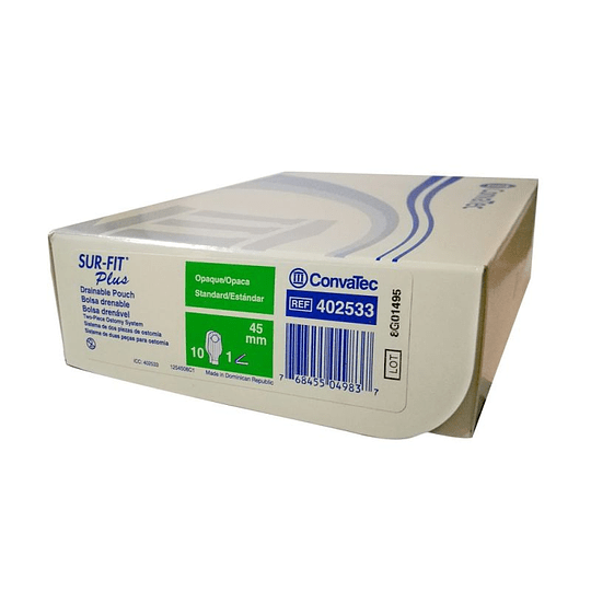 402533 – Convatec Bolsa Colostomía Drenable Opaca 45mm