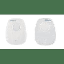 PROXIMA 2 Bolsa Colo c/filtro, 80 mm, transp. (COD 73280 A)