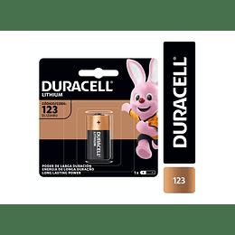 Pila Litio 123A High Power 6V Duracell – Unidad