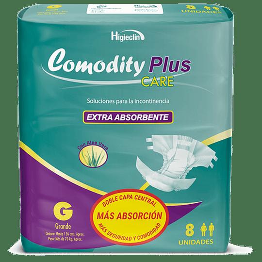 Comodity Plus Care – Talla G – 8 unidades