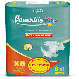 PAÑAL COMODITY PLUS XG X8