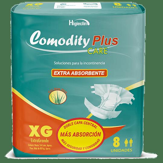Comodity Plus Care – Talla XG – 8 Unidades
