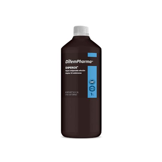 Agua Oxigenada Diperox Litro