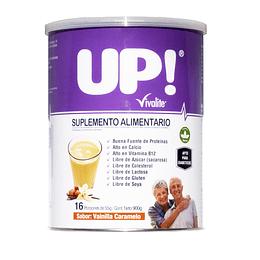 Vivalite Suplemento Up! | Sabor Vainilla – Caramelo 900grs