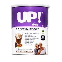 Vivalite Suplemento Up! | Sabor Chocolate/Avellana 900grs