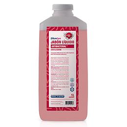 Jabon Antibacterial c/Glicerina 1 Litro Difemcare