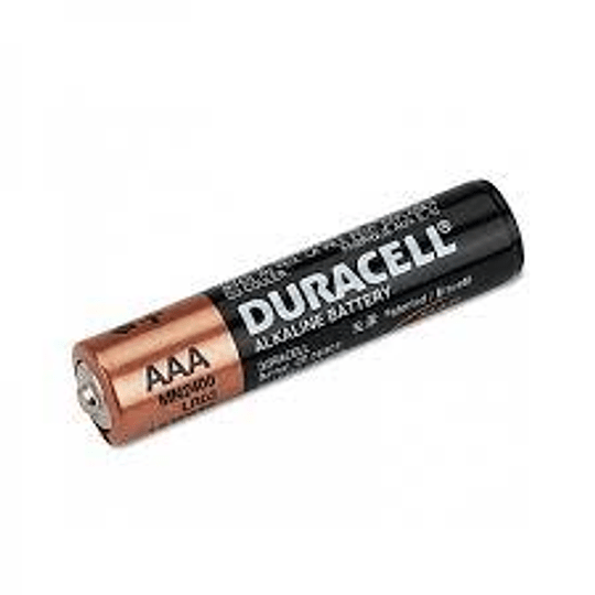 Pilas Duracell AAA (Unidad)