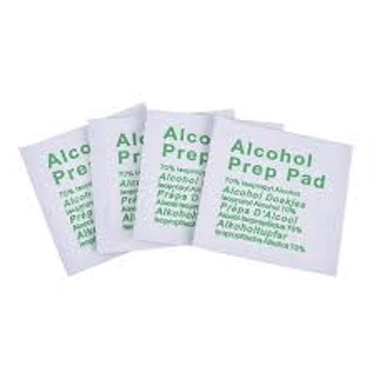 ALCOHOL PREPIES  70% CAJAX100