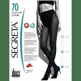 Panty Silhouette 70 Derm con Compresión 11/14 mmHg