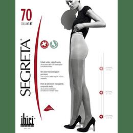 Panty Segreta 70 con Compresión 11/14 mmHg