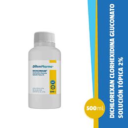 Dichlorexan Clorhexidina Solución Acuosa 500 Ml.