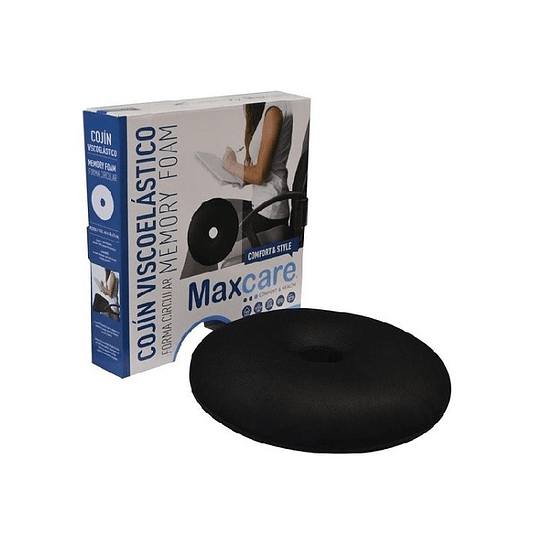 Cojin Circular Memory Foam - Maxcare