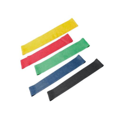 Banda Elástica Circular Set 5 Unidades - Colores Surtidos PL-451