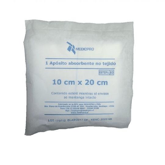 Apósito de gasa no tejida 10 X 20 Bolsa 25 un Medicpro