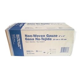 25-444A – Gasa no Tejida Global Healthcare 10×10 cm 200un