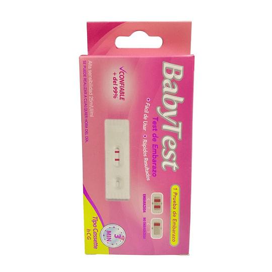 Babytest Test de Embarazo Tipo Cassete HCG