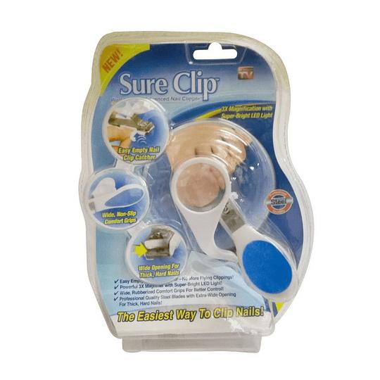 Sure Clip – Cortauñas c/Lupa + Luz