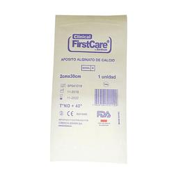 291100 – Apósito Alginato de Calcio Clinical FirstCare 2x30cm (Mecha)