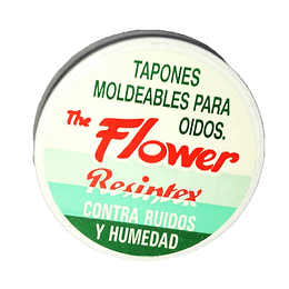 Tapones Moldeables p/Oidos The Flower – 3 Pares
