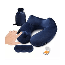 Cuello Inflatable Travel Pillow