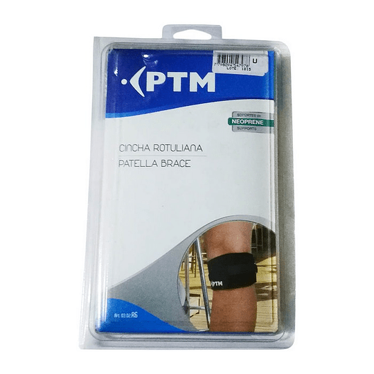 Cincha Rotuliana (Menisquera) PTM – Talla Única