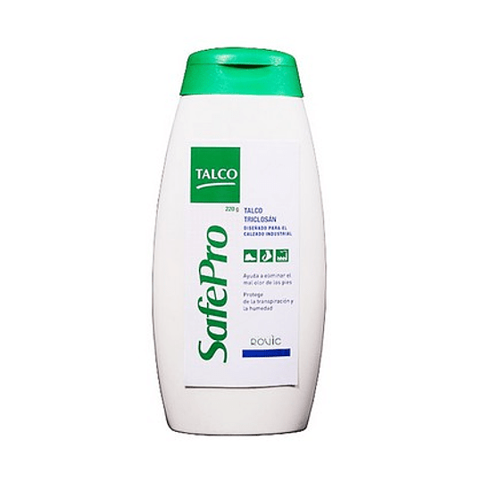 Talco c/Triclosan SafePro 120gr