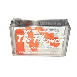 Tapones p/Oidos de Silicona The Flower – 1 Par