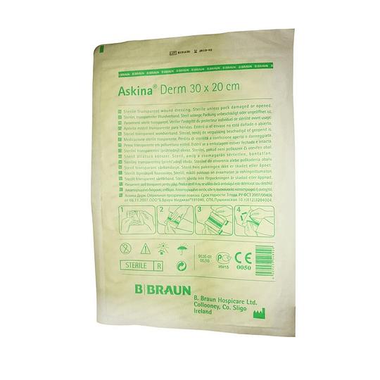 Bbraun Askina® Derm – Apósito Transparente p/Heridas – Estéril