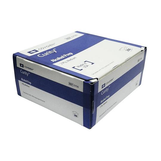5750 – Covidien Curity – Almohad. p/Preparación / Alcohol, 2 capas – 200 un.