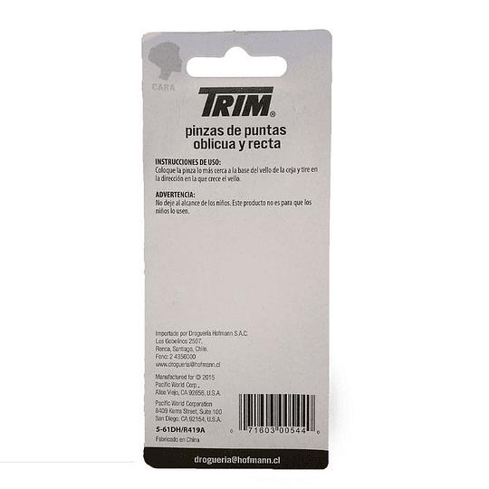 #00544 – Pinza Recta y Oblicua TRIM
