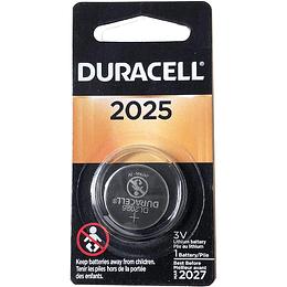 Batería de Litio tipo Botón Duracell DL2025