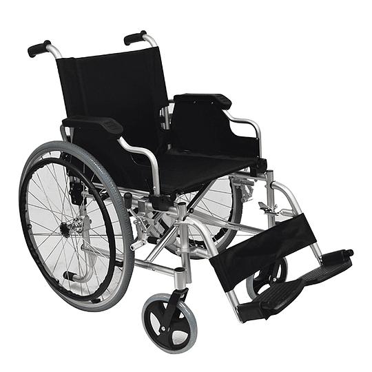 SRA012 - Silla de Ruedas Aluminio Comfort