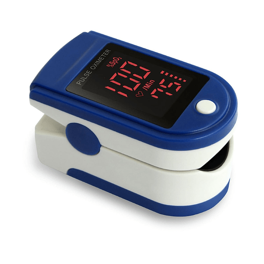 Oximetro, Pulsoximetro, Oxigeno Saturador Adulto + Cordón