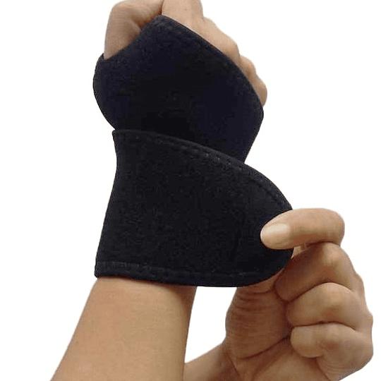 Muñequera Ortopédica Con Soporte, Ajustable